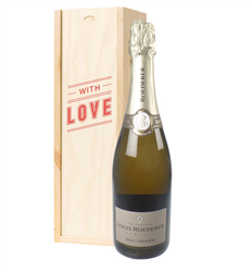 Louis Roederer Champagne Valentines Day Gift