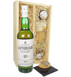 Laphroaig 10 YO Single Malt and Pate