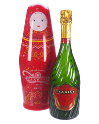 Tsarine Champagne Russian Doll Gift