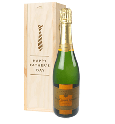 Veuve Clicquot Vintage Champagne Fathers Day Gift In Wooden Box