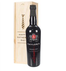 Taylors First Reserve Port Fathers Day Gift In Wooden Box
