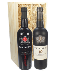 Taylors First Reserve and 10 Year Old Port