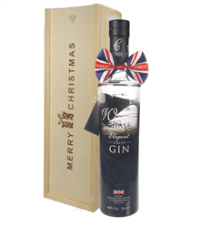Chase Elegant Gin Christmas Gift In Wooden Box