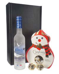 Christmas Vodka And Chocolates Gift Set