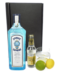 Bombay Sapphire Gin And Tonic Gift Set