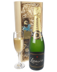 Lanson Champagne and Chocolates Gift Set