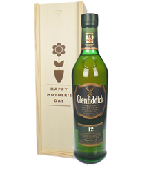 Glenfiddich 12 Year Old Single Malt Whisky Mothers Day Gift