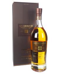 Glenmorangie 18 Year Old Single Malt Scotch Whisky Gift Box