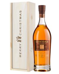 Glenmorangie 18 Year Old Single Malt Whisky Christmas Gift In Wooden Box