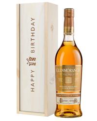 Glenmorangie Nectar Dor Malt Whisky Birthday Gift In Wooden Box