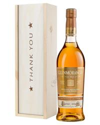 Glenmorangie Nectar Dor Malt Whisky Thank You Gift In Wooden Box