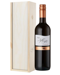 Italian Sangiovese Red Wine Gift in Wooden Box