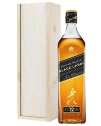 Johnnie Walker Black Label Blended Scotch Whisky Gift