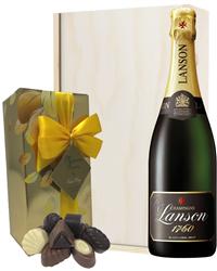 Lanson Champagne & Belgian Chocolat...