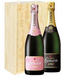 Lanson Mixed Two Bottle Champagne G...