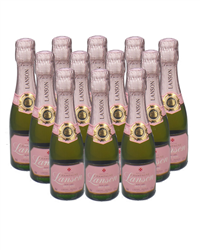 Lanson Rose Champange Mini Quarter ...