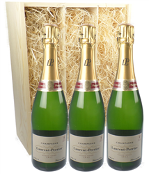 Laurent Perrier Three Bottle Champa...