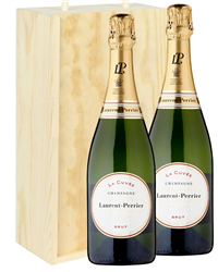 Laurent Perrier Two Bottle Champagn...