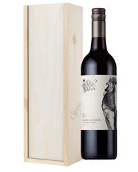 Limestone Coast Cabernet Sauvignon Red Wine Gift in Wooden Box