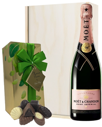 Moet & Chandon Rose Champagne & Bel...