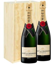 Moet & Chandon Two Bottle Champagne...