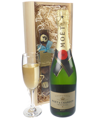 Moet Champagne and Chocolates Gift Set