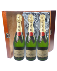 Moet et Chandon Champagne Triple Lu...