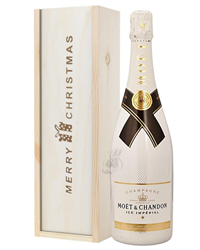 Moet Ice Imperial Champagne Single Bottle Christmas Gift
