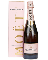 Moet Rose Champagne Gift Box