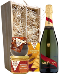 Mumm Champagne & Gourmet Food Gift ...