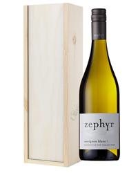 New Zealand Sauvignon Blanc White Wine Gift in Wooden Box