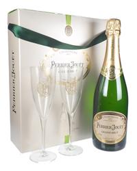 Perrier Jouet Champagne Branded Flu...