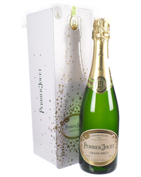 Perrier Jouet Champagne Tin Gift Bo...