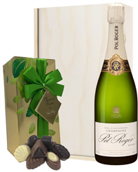 Pol Roger Champagne & Belgian Choco...