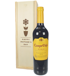 Rioja Tempranillo Red Wine Mothers Day Gift