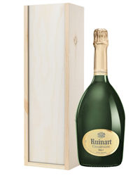 Ruinart Champagne Gift in Wooden Bo...