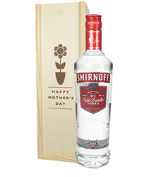 Smirnoff Red Label Vodka Mothers Day Gift