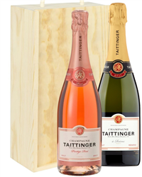 Taittinger And Taittinger Rose Two ...