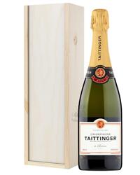 Taittinger Brut Champagne Gift in W...