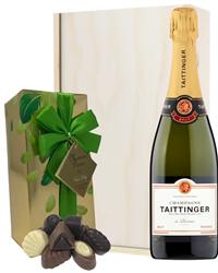 Taittinger Champagne & Belgian Choc...
