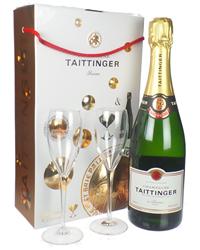 Taittinger Champagne Branded Flute ...