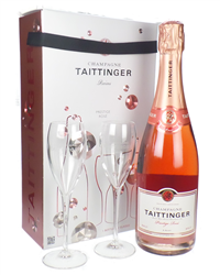 Taittinger Rose Champagne Branded F...