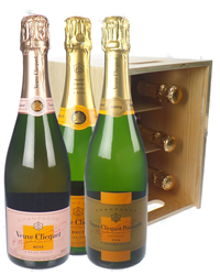 The Veuve Collection Champagne Six ...