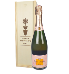 Veuve Clicquot Rose Champagne Mothers Day Gift
