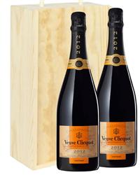 Veuve Clicquot Vintage Two Bottle C...