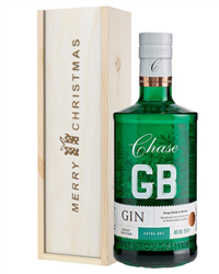 Williams GB Gin Christmas Gift In Wooden Box