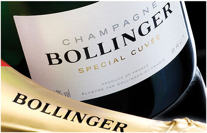 Bollinger Champagne Delivery