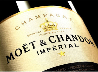 Moet Champagne Delivery