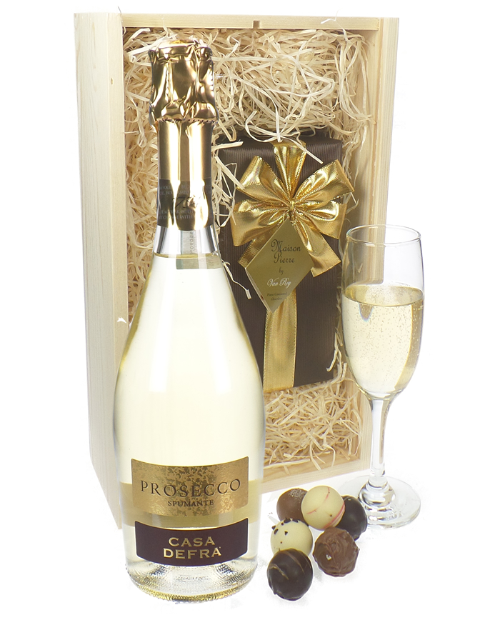Prosecco And Belgian Chocolates