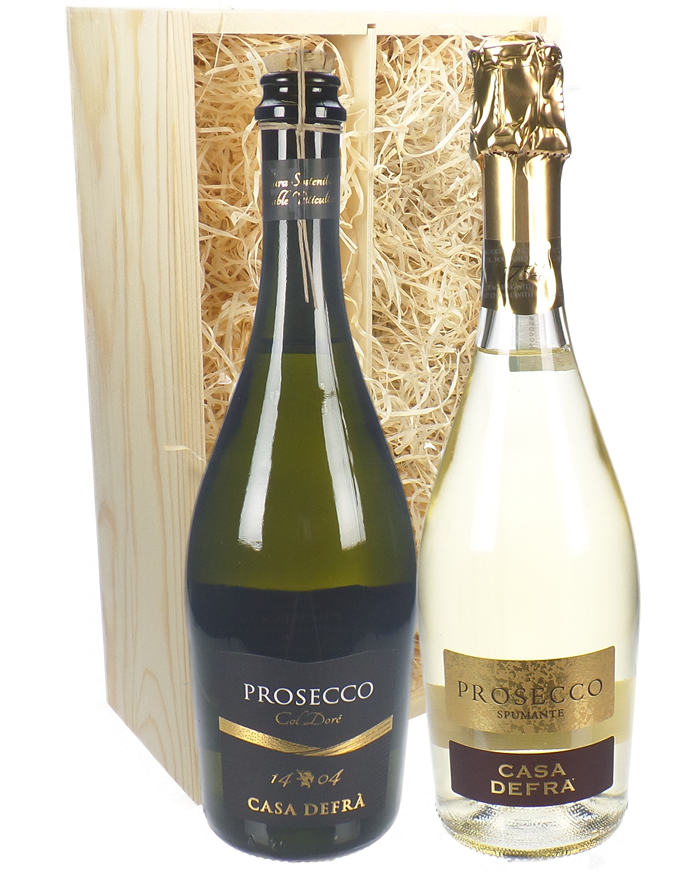 Prosecco Mixed Twin Wine Gift